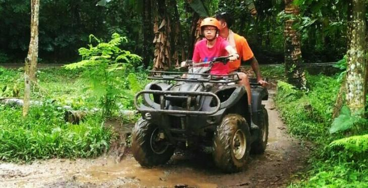 ATV Ride and Water Rafting Adventure