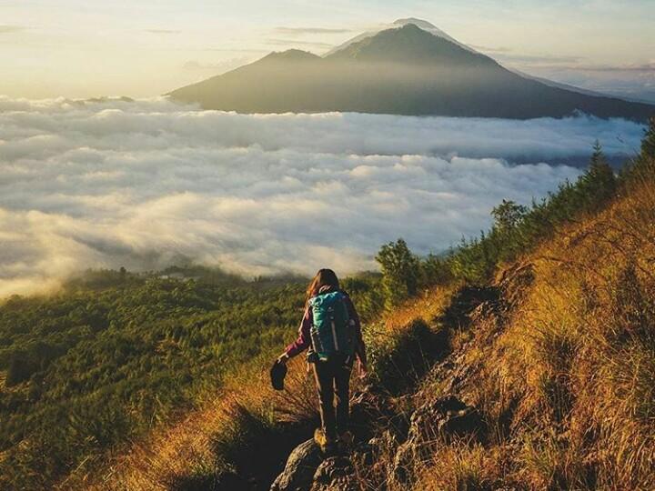 Mount Batur Height
