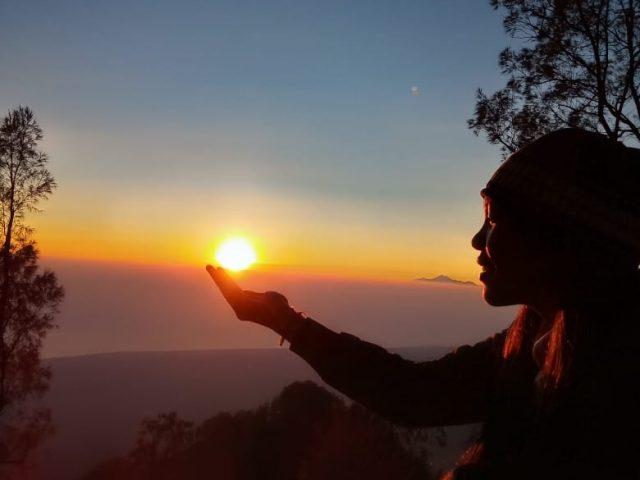 Mt Abang Sunrise View