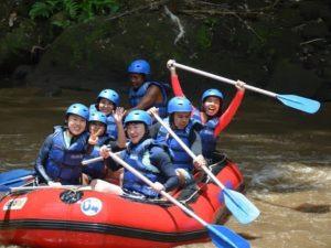 mount batur and rafting