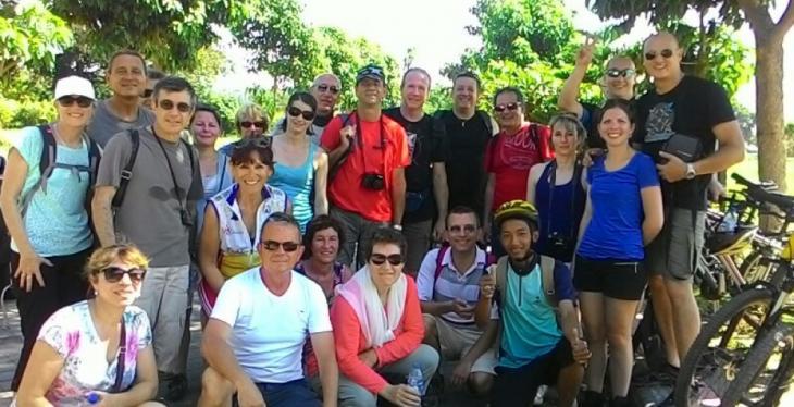 Batur Caldera Cycling at Kintamani Bali