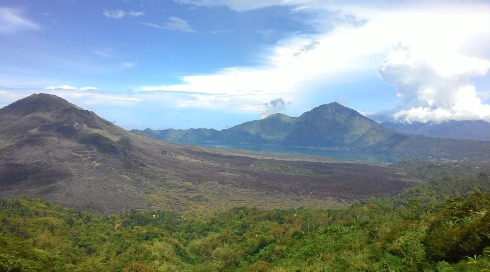 Kintamani Bali and Mount Batur