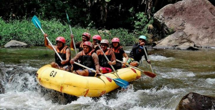 Mt Batur Trek and White Water Rafting