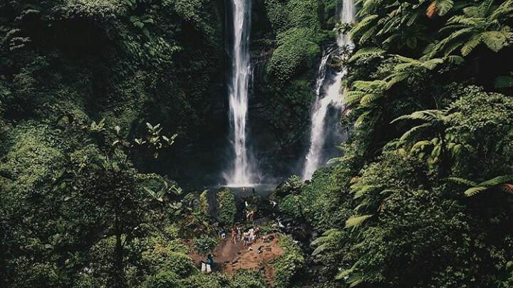 Sekumpul Waterfall Jungle trekking