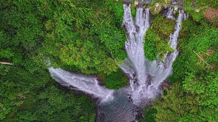 Sekumpul Waterfall Map