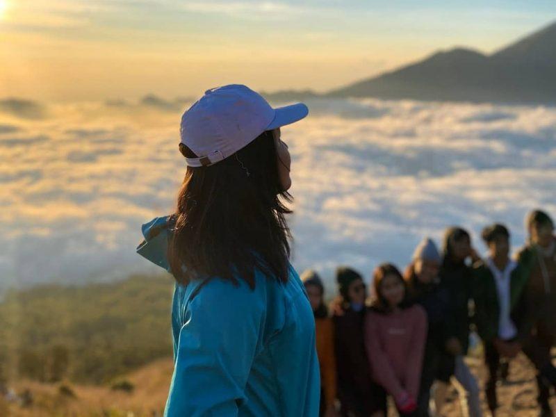 biaya mendaki gunung Batur