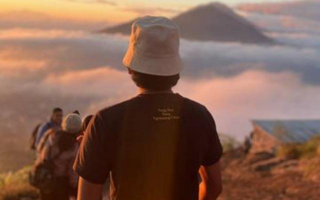 Pantangan Mendaki Gunung Batur